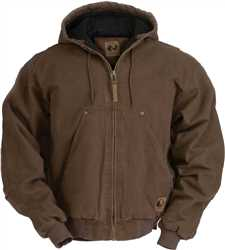 Berne Original Washed Hooded Jacket