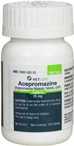 Acepromazine Maleate Tablets for Dogs