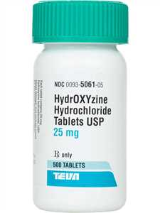 Hydroxyzine HCl Tablets for Dogs, Cat and Horses