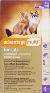 Advantage Multi for Cats Topical Solution