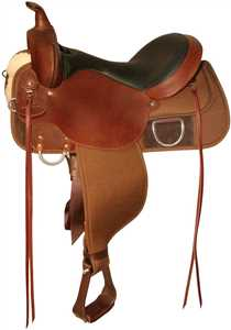 Tobac 6910 High Horse Lockhart Easy-Fit Cordura Trail Saddle