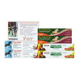 2X Premium One-Year Paste Horse Wormer Pack Valley Vet Supply