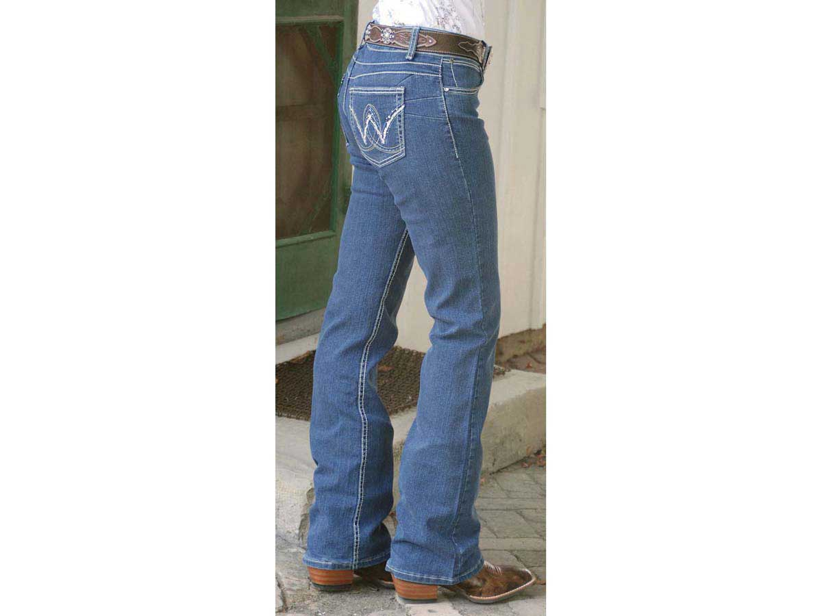 Wrangler For Sale >> Premium Patch Mae Womens Jeans with Booty Up Technology Wrangler - Womens Clothing|Womens Jeans