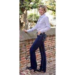Premium Patch Mae Womens Jeans with Booty Up Technology Item # 18515