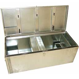 Galvanized Steel Show Box - Large Item # 22955