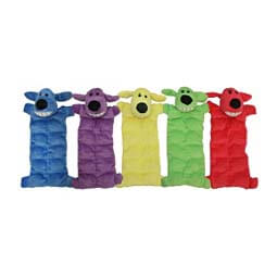 "Loofa Squeaker 12"" Mat Dog Toy Multipet"
