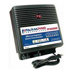 FarmPro Power Wizard FP10500XR Ultra Low Impedance Electric Fence Energizer w/Remote  AgraTronix
