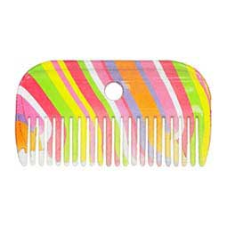 Rainbow Stripes Pattern Mane Comb Weatherbeeta