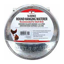 Glavanized Round Hanging Poultry Waterer Little Giant