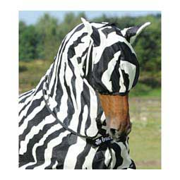 Bucas Zebra Buzz Off Fly Mask with Ears