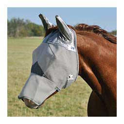 Crusader Pasture Long Nose Fly Mask with Ears Cashel