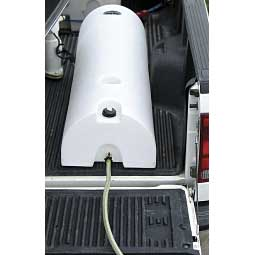 48 Gallon Half Moon Water Lay Down Caddy Item # 34785