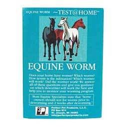 Equine Home Worm Test Kit Perfect Pet
