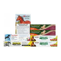 Premium One-Year Paste Horse Wormer Pack