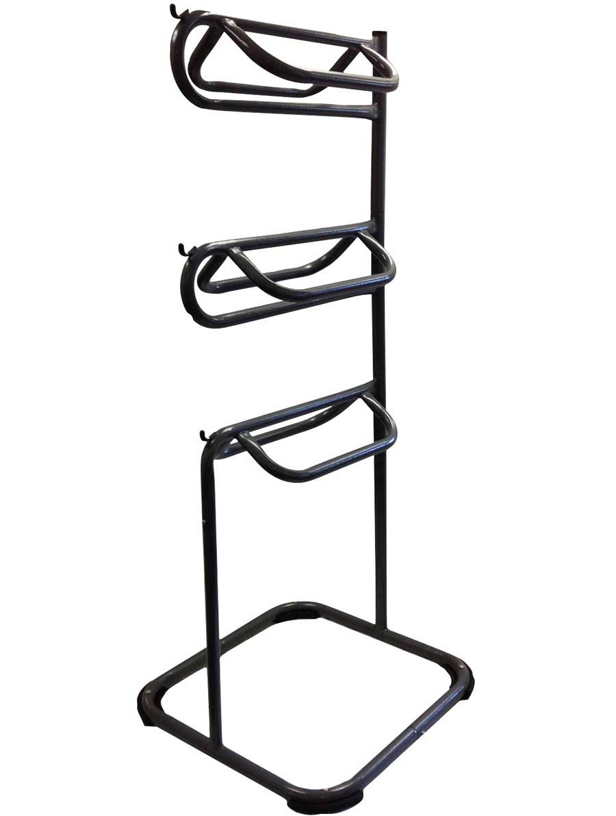 plastic rack black with or red coating saddle pink of horka in metal
