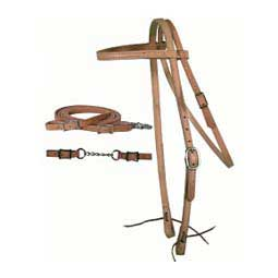 Headstall Set with Roping Reins
