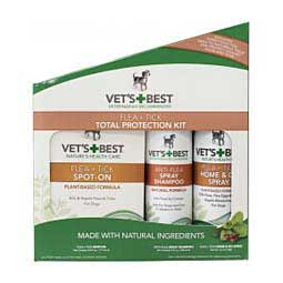 Vet's Best Natural Flea & Tick Total Protection Kit Item # 42153