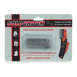 Sologroom Replacment Blades For Solocomb