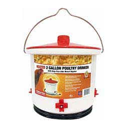 Heated Poultry Drinker 2 Gallon  Farm Innovators