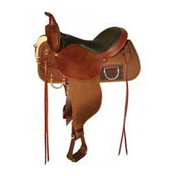 Custom High Horse Cordura Horse Saddle  Circle Y