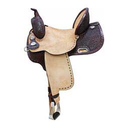Kelly Kaminski Exclusive Frontier Barrel Horse Saddle Circle Y
