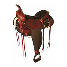 Demo Saddle - 7172D Easy Rider English Trail Horse Saddle Fabtron