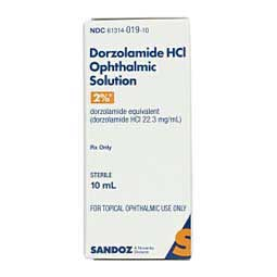 Dorzolamide HCl Ophthalmic 2% Generic (brand may vary)