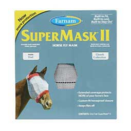 SuperMask II Classic Horse Fly Mask without Ears Farnam