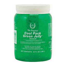 Cool Pack Green Jelly Liniment for Horses Horse Health