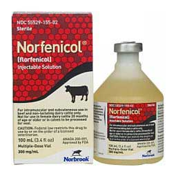 Norfenicol (Florfenicol) Solution for Beef & Non-Lactating Dairy Cattle Norbrook Labs