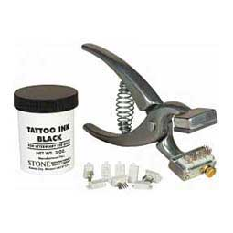 Pet Tattoo No. 300 Pliers Kit  Stone Manufacturing Company