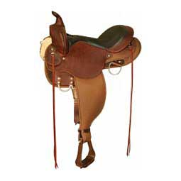 6970 El Campo Easy-Fit Gaited Western Trail Horse Saddle