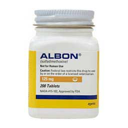 Albon for Dogs & Cats Zoetis Animal Health