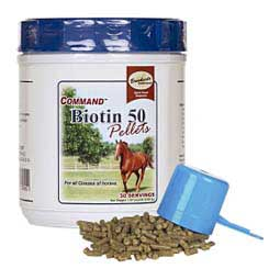 Command Biotin 50 Pellets for Horses Brookside Supplements