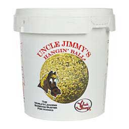 Uncle Jimmy's Hangin' Ball Boredom Buster for Horses Uncle Jimmy's Brand