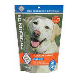 Cosequin DS Soft Chews Plus MSM Joint Health Supplement for Dogs Nutramax Laboratories