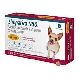 Simparica TRIO for Dogs Zoetis Animal Health