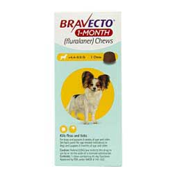Bravecto 1-Month Chews for Dogs and Puppies  Merck