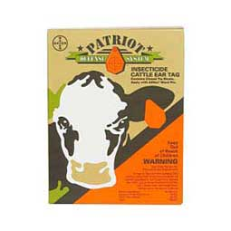 Patriot Insecticide Cattle Ear Tags Bayer