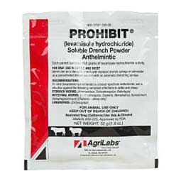 Prohibit Levamisole Drench Powder AgriLabs