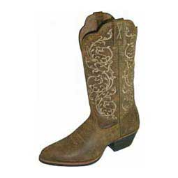 "Western Silver Buckle Collection R Toe 12"" Cowgirl Boots  Twisted X"