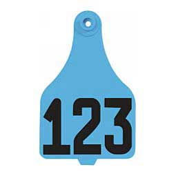 DuFlex Numbered Extra Large Cattle ID Ear Tags Destron Fearing