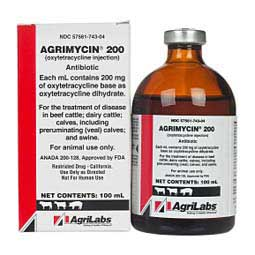 Agrimycin 200 Antibiotic for Use in Animals  AgriLabs
