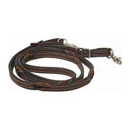 Love Knot Roping Rein Buffalo Leather of the Rockies