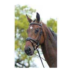 Flash Bridle with Laced Reins