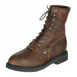 Steel Toe Mens Lacers Justin