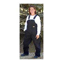 Sanded Insulated Womens Bib Overalls - Short Berne Apparel