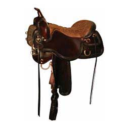 Demo Saddle-253 Snake River Tucker Trail Saddle Tucker Saddlery