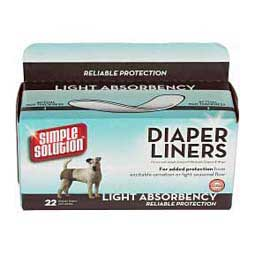 Simple Solution Light Absorbency Dog Diaper Liners