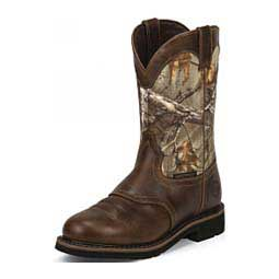 Mens Waterproof Stampede Collection Round Toe 11